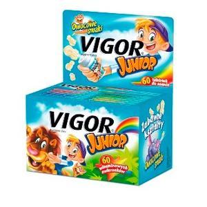 Vigor Junior, tabletki do ssania marki USP Zdrowie - zdjęcie nr 1 - Bangla