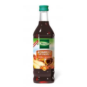 Kompot w syropie, wieloowocowy, wiśnia z jabłkiem, jabłko z gruszką marki Herbapol Lublin - zdjęcie nr 1 - Bangla