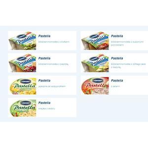 Pastella nie rybna, pasta różne smaki marki Lisner - zdjęcie nr 1 - Bangla