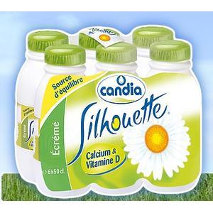 Silhouette, mleko 0,1% marki Candia - zdjęcie nr 1 - Bangla