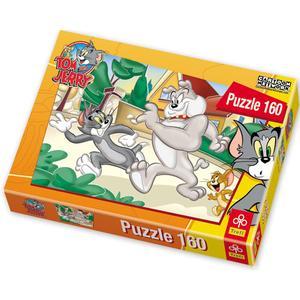 Puzzle, Seria Tom and Jerry, 160 elementów marki Trefl - zdjęcie nr 1 - Bangla