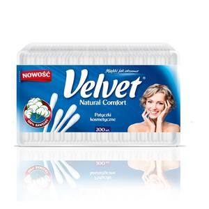 Velvet, Patyczki kosmetyczne - różna opakowania marki Velvet Care sp. z o.o. - zdjęcie nr 1 - Bangla