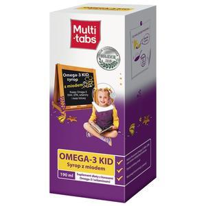 Multi Tabs, Omega 3 KID Syrop z miodem marki Ferrosan - zdjęcie nr 1 - Bangla