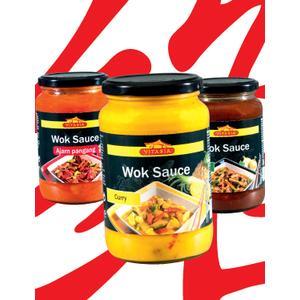Vitasia, Wok Sauce, różne rodzaje marki Lidl - zdjęcie nr 1 - Bangla