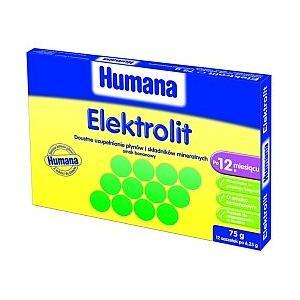 Elektrolit, smak koperkowy marki Humana - zdjęcie nr 1 - Bangla
