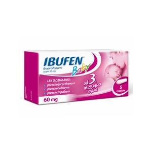 Ibufen Baby, Czopki marki Polpharma - zdjęcie nr 1 - Bangla