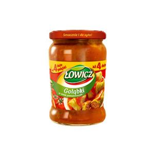 Gołąbki w sosie pomidorowym marki Łowicz - zdjęcie nr 1 - Bangla