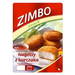 Zimbo snack, Golden Chicken Nuggets mit Dip, Nugetsy z kurczaka marki Zimbo - zdjęcie nr 1 - Bangla