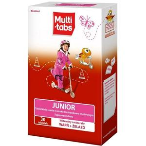 Multi Tabs Junior, tabletki do ssania marki Ferrosan - zdjęcie nr 1 - Bangla