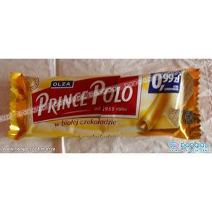 Prince Polo w białej czekoladzie marki Olza - zdjęcie nr 1 - Bangla