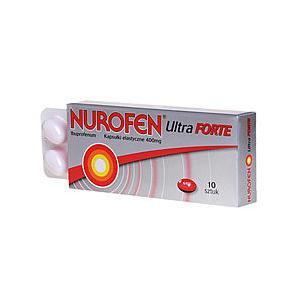 Nurofen Ultra Forte, kapsułki elastyczne 400 mg marki Boots Healthcare - zdjęcie nr 1 - Bangla