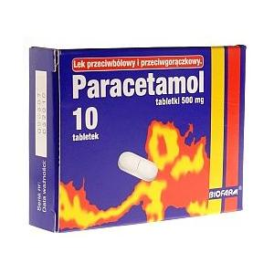 Paracetamol, tabletki marki Biofarm - zdjęcie nr 1 - Bangla