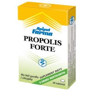 Propolis Forte, tabletki do ssania pomarańczowe lub mentolowe marki Apipol Farma - zdjęcie nr 1 - Bangla