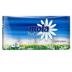 MOLA Feel Good Papier toaletowy 3-warstwowy o zapachu konwalii leśnej marki Mola - zdjęcie nr 1 - Bangla