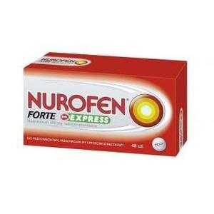 Nurofen Forte Express marki Boots Healthcare - zdjęcie nr 1 - Bangla