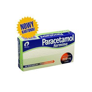 Paracatemol 250 mg, czopki dla dzieci od 7 lat marki Farmina - zdjęcie nr 1 - Bangla