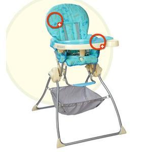 Dandi, krzesełko marki Coneco - zdjęcie nr 1 - Bangla