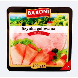 Baroni, Szynka gotowana, plastry marki Lidl - zdjęcie nr 1 - Bangla