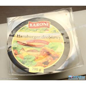Baroni, Hamburger drobiowy, różne rodzaje marki Lidl - zdjęcie nr 1 - Bangla