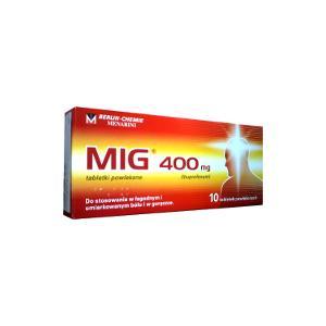 MIG 400 mg marki Berlin Chemie AG - zdjęcie nr 1 - Bangla