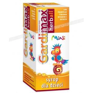 Gardimax Herbal Mini, syrop dla dzieci marki Tactica - zdjęcie nr 1 - Bangla
