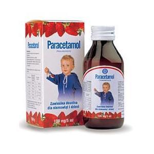 Paracetamol, zawiesina doustna dla niemowląt i dzieci marki Hasco-Lek - zdjęcie nr 1 - Bangla