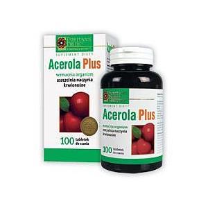 Acerola Plus, tabletki do ssania marki Puritans Pride - zdjęcie nr 1 - Bangla