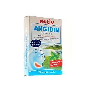 Activ Angidin, tabletki do ssania marki NP Pharma - zdjęcie nr 1 - Bangla