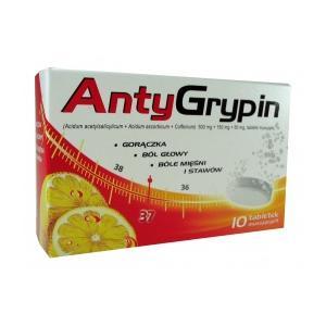 AntyGrypin, tabletki musujące marki NP Pharma - zdjęcie nr 1 - Bangla