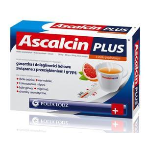 Ascalcin Plus, saszetki z proszkiem musującym marki Polfa Łódź - zdjęcie nr 1 - Bangla