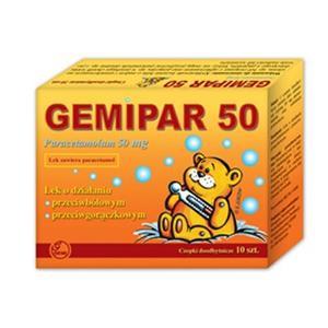 Gemipar, czopki 50 mg, 125 mg marki Gemi - zdjęcie nr 1 - Bangla