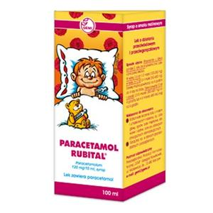 Paracetamol Rubital, 120mg/10ml marki Gemi - zdjęcie nr 1 - Bangla