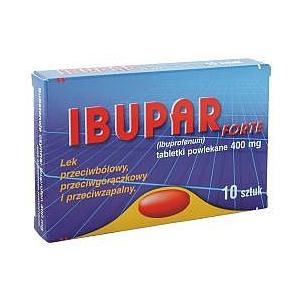 Ibupar 200 mg, Ibupar Forte 400 mg marki Polfa Pabianice - zdjęcie nr 1 - Bangla