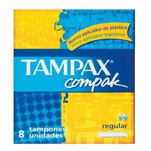 Tampax Compak, różne rozmiary marki Tampax - zdjęcie nr 1 - Bangla