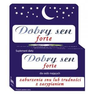 Dobry Sen forte, tabletki marki Uniphar - zdjęcie nr 1 - Bangla