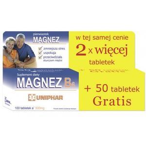 Magnez B6 marki Uniphar - zdjęcie nr 1 - Bangla