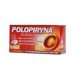 Polopiryna C, tabletki musujące marki Polpharma - zdjęcie nr 1 - Bangla