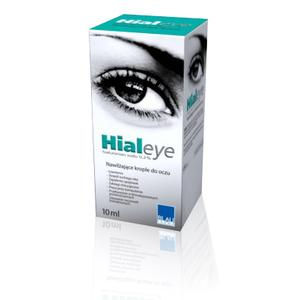 Hialeye, Hialuronian sodu 0,2% lub 0,4%, Nawilżające krople do oczu marki Blau Farma - zdjęcie nr 1 - Bangla