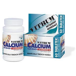 Vitrum Calcium 1250 + Vitaminum D3 marki Unipharm - zdjęcie nr 1 - Bangla