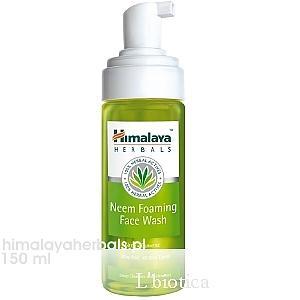 Neem Foaming Face Wash, Pianka do mycia twarzy marki Himalaya - zdjęcie nr 1 - Bangla