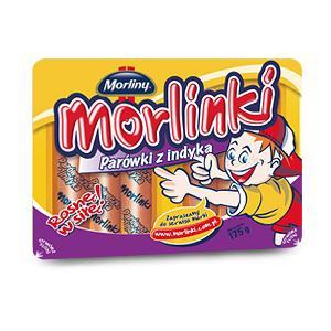 Morlinki, Parówki z indyka marki Morliny - zdjęcie nr 1 - Bangla