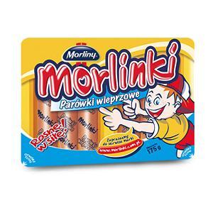 Morlinki, Parówki wieprzowe marki Morliny - zdjęcie nr 1 - Bangla