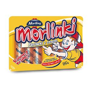 Morlinki, Parówki z serem marki Morliny - zdjęcie nr 1 - Bangla