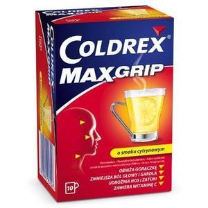 Coldrex, Max Grip, saszetki marki GSK Glaxo Smith Kline - zdjęcie nr 1 - Bangla