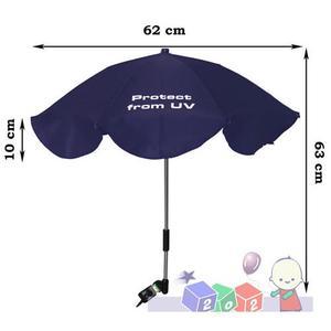Przeciwsłoneczna parasolka do wózków z filtrem UV, 0349K marki Ania - zdjęcie nr 1 - Bangla
