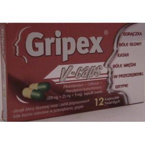 Gripex, V-Caps marki USP Zdrowie - zdjęcie nr 1 - Bangla
