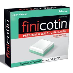 Finicotin, guma do żucia marki Polski Lek - zdjęcie nr 1 - Bangla