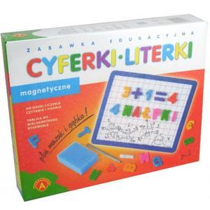 Cyferki i Literki, Tablica magnetyczna, 4205 marki Alexander - zdjęcie nr 1 - Bangla