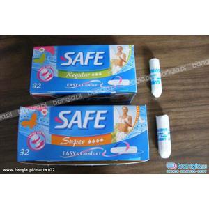 Safe, Tampony marki Biedronka - zdjęcie nr 1 - Bangla