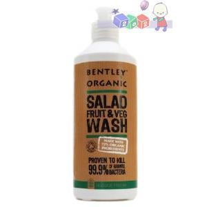 Salad, Fruit & Vegetable Wash, płyn do mycia warzyw i owoców marki Bentley Organic - zdjęcie nr 1 - Bangla
